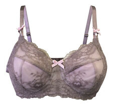 Ladies Sexy Non Padded Wire Free Lace Post Surgery / Mastecomy Bra with Pockets