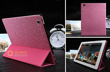 Premium Magnetic Folding Folio Leather Smart Cover Case for iPad 4 3 2 Pink USA