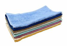 Cotton Washcloths, 100% Ringspun Cotton, Soft and Absorbent, (80 Pack; 12x12)