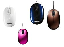 ASUS Seashell USB Optical Mouse ---- Brown /  Pink / Blue / White
