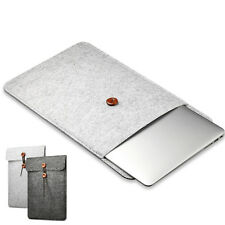 11 - 15 Inch Simple Woolen Felt Bag Cover Case Macbook Notebook Protection PO