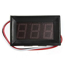 0.56 Inch DC 0-10/30/200V 3 Wire LED Voltmeter Digital Display Panel Volt Meter