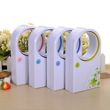 Mini Bladeless Fan Refrigeration No Leaf Air Conditioner USB Desktop