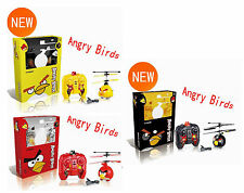 Angry Birds Remote Helicopter RC Flight Flying AeroCraft - Red/Black/Yellow