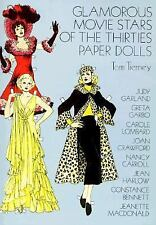 Glamorous Movie Stars of the Thirties Paper Dolls by Tom Tierney (1978,...