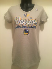 Golden State Warriors Ladies T-Shirt Light Gray Color T-shirt by ADIDAS(Tagless)