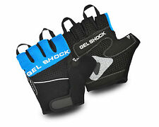 HALF FINGER GYM WORK OUT WEIGHT LIFTING BODYBUILDING TRAINING CYCLING GLOVES