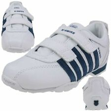 K-SWISS Arvee 1.5 Trainers Childrens Shoes white blue Leather Kids