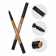 1028  Visual Therapy Definer 3 in 1 Eyebrow Pencil  w/brush Dark / Light Brown