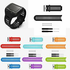 Hot Silicone Watch Band Strap for Garmin Forerunner 910XT GPS Watch +Tools& Pins