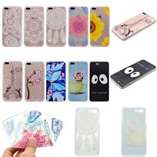 ULTRA THIN FASHION Soft Rubber Back TPU GEL RUGGED Case Cover For Apple iPhone