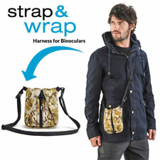 Miggo Strap & Wrap Harness for Roof Binoculars Morphs Strap To Case