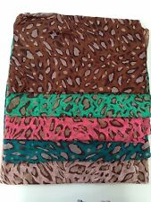 New Ladies Girls Classy  Leopard Design Scarf Wrap Shawl Retro Fashion