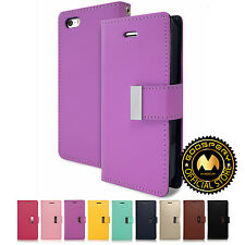 GOOSPERY® Rich Diary PU Leather Flip Wallet Case Cover For Apple iPhone SE 5 5S