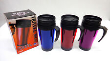 16 OZ Insulated Double Wall Travel Coffee Mug CUP NEW FROM USA SAME DAY SHIPPING