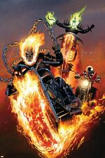 Marvel Ghost Riders: Heavens on Fire No.5 Cover: Ghost Rider Poster
