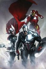 Marvel Secret Invasion No.6 Cover: Captain America, Thor and Iron Man Poster