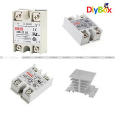 SSR-25/40/100DA Solid State Relay Module For Arduino&Aluminum Heat Sink For SSR