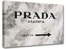 Prada Marfa Gossip Girl sign, painting canvas art, wall art, home decor -06