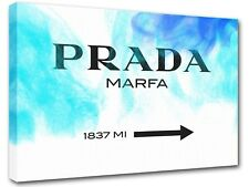 Prada Marfa Gossip Girl sign, painting canvas art, wall art, home decor -18