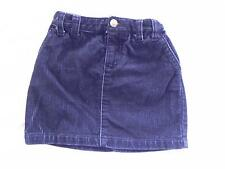 Ralph Lauren Navy corduroy skirt 5T Adjustable waist 100% cotton EUC
