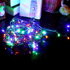 010M 110V 100 LED String Decoration Light For Christmas Party Wedding QKC