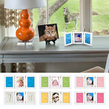 Newborn Baby Handprint Footprint Photo Frame Baby Photo Frame DIY Gift for Baby