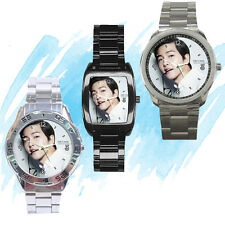 NEW Wrist Watch Stainless Sport Barrel Analogue Song Joong Ki Korea Idol Pop