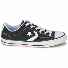 Converse Star Player Ox Black White Womens Trainers
