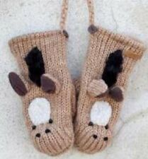 Kids Horse Mittens by Knitwits - A2239K