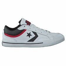 Converse Pro Blaze Ox White Black Youths Trainers