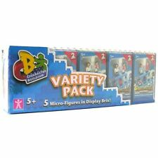 NEW Character Building Series 2 Football Stars FIVE PACK *Micro Figures in Brix