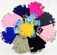 Winter Touch Screen Magic Unisex Kids Ladies Mens Gloves For Phone