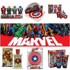 MENS CHOICE MARVEL GIFT SET AFTERSHAVE WASH BAG PRESENT NOVELTY TOY PRESENT