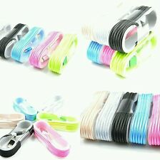 Lot :3pcs 5ft Fabric Usb Data Sync Charger Cable for Apple iPhone 5/6/6s/7/7plus