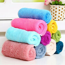 5/10/20Pcs Fiber Bamboo Dish Wash Cloth Cleaning Assted Colors Towel for Kitchen