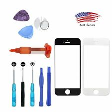 Front LCD Lens Touch Screen Glass Replacement / Repair Tools  for Apple iphone 7