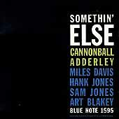 Somethin' Else [RVG Edition] [Remaster] by Cannonball Adderley (CD, Mar-1999,...