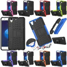 Rugged Shockproof Armor Hybrid Hard KickStand Case Cover For Huawei Ascend Y6 II