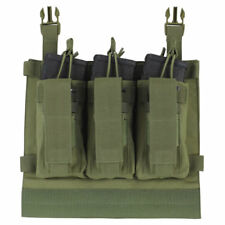 Condor VAS Kangaroo Mag Pouch OD Hook Backing Fits 3 AR-15 Rifle & 3 Pistol Mags