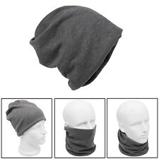 Unisex Neck Warmer Snood Scarf Hat Headband Beanie Mask Ski Wear Snowboarding