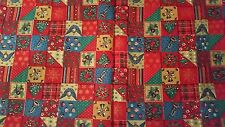 Miniature Quilting Holiday Design Fabric Traditions OOP Sold by 1/2 yard