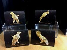 GG Harris' Wildlife Pins and All Kinds of 24K Gold Plated Bird Pins