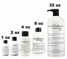 Philosophy The Microdelivery Exfoliating Wash Daily Facial 2 4 8 32 oz YOU PICK