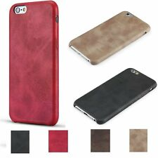Luxury Leather Striped Lines Skin Shookproof Back Case Cover For Apple iPhone 6S
