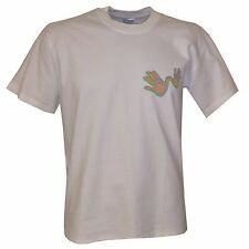 Beatles Paul Mc Cartney Wings Hands Officially Licensed T Shirt  - Size M, XL