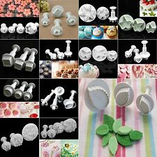 Xmas Sugar Cake Cookie Decorating Fondant Sugarcraft Cutters Plunger Mould Tools