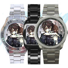 NEW Wrist Watch Stainless Vampire Knight Kaname Zero Matsuri Anime Manga