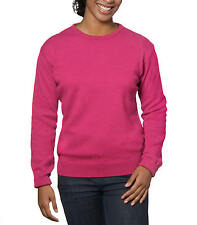 WoolOvers Womens Lambswool Crew Neck Long Sleeve Winter Warm Sweater Top