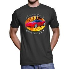 Chevy Corvette ZR1 Fast And Fierce Men`s Dark T-Shirt